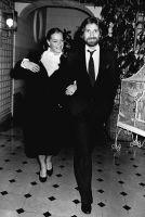 "Romy Schneider and Daniel Biasini, 1ere ""Madame est sortie"", 1980"