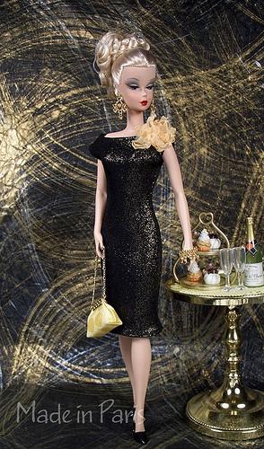 """٠•●●♥♥❤ஜ۩۞۩ஜஜ۩۞۩ஜ❤♥♥●   """"Little Black Dress""""  Silkstone & Fashion Royalty by MADE in PARIS Creations  ٠•●●♥♥❤ஜ۩۞۩ஜஜ۩۞۩ஜ❤♥♥●"""