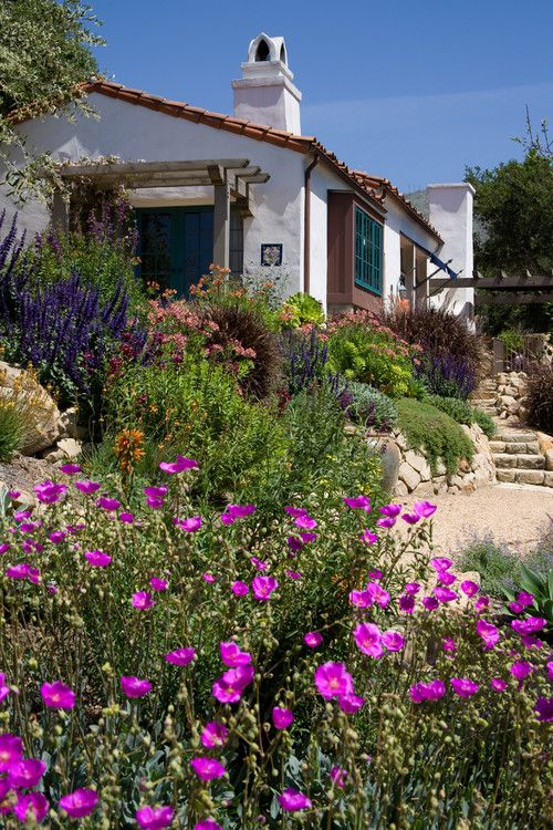 17 Best Ideas About Spanish Garden On Pinterest