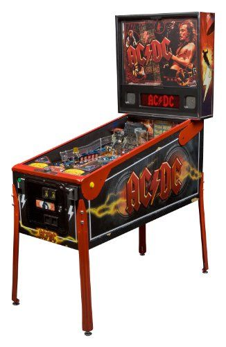 Stern AC/DC Premium Arcade Pinball Machine Stern Pinball