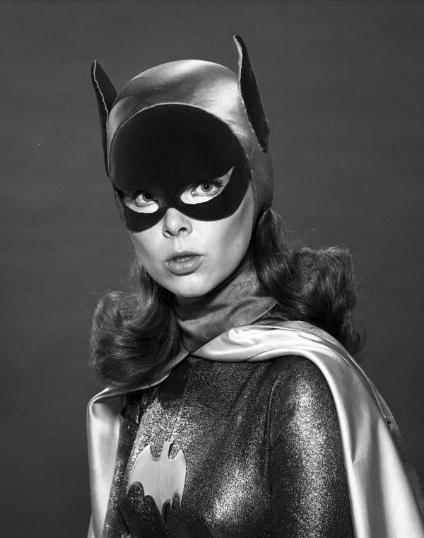 Batman Classic 1966 TV Batgirl Close-Up Gallery Print