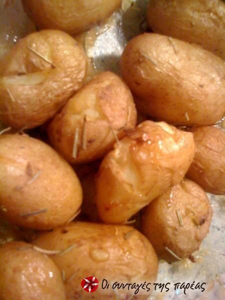 Πατάτες baby πεντανόστιμες #sintagespareas