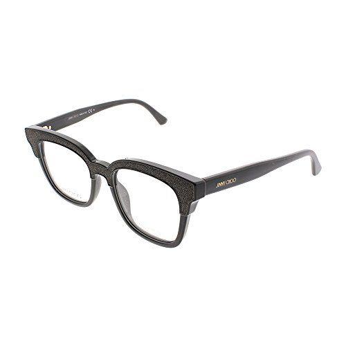 d5f1d78171 Jimmy Choo Plastic Cat Eye Eyeglasses 49 019K Brown Glitterbw ...