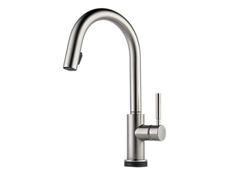 Single Handle Single Hole Pull-Down Kitchen Faucet with SmartTouch® : 64020LF-SS : Solna : kitchen : Brizo