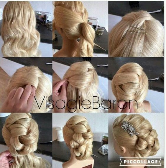 Beautiful hairstyles for girls and adults! infant