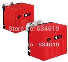 high quality one(single) stage diesel oil fired burner, industrial light light fuel oil burner for boiler/oven/making furnace