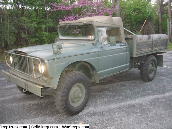 Military Jeeps For Sale and Military Jeep Parts For Sale - 1968 Jeep Kaiser Pickup 4X4 M715 5/4 Excellent Condition!