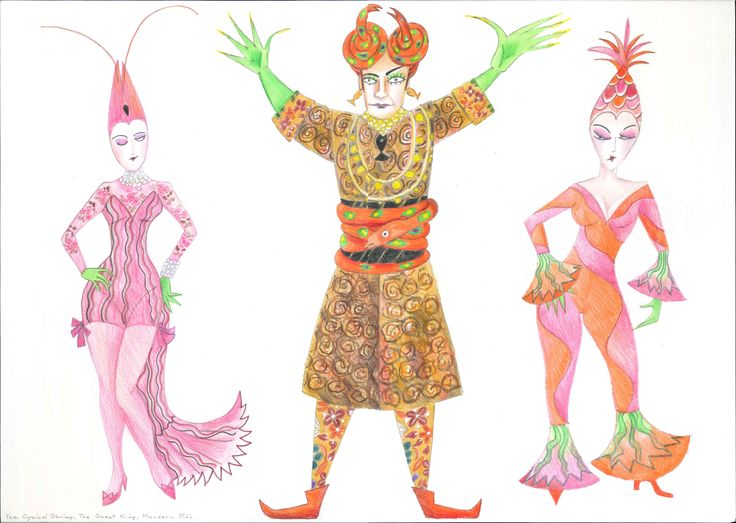 Monkey Costume Concept - Cynical Shrimp King of Miracles Mandarin Fish Costume #monkeylive
