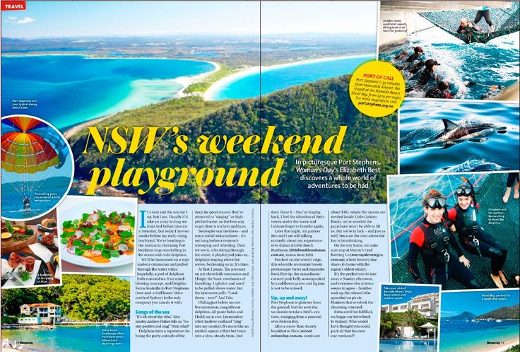Elizabeth Best from Woman's Day has written a great article in the magazine's travel section about her experience doing our wild dolphin swim! #womansday #wilddolphinswim #dolphinswimaustralia #swimwithdolphins #portstephens #psiloveyou #dolphins