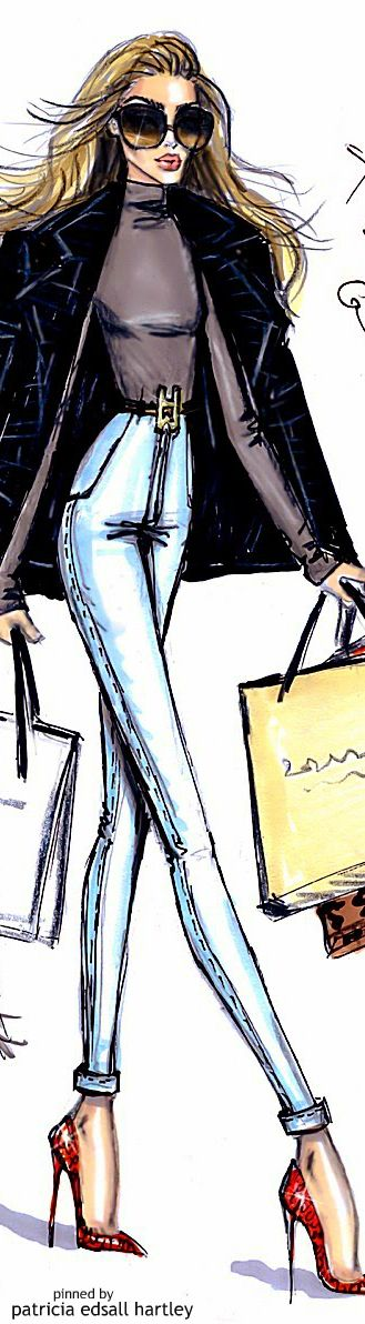 Holiday Retail Therapy - Illustration by Hayden Williams | House of Beccaria~