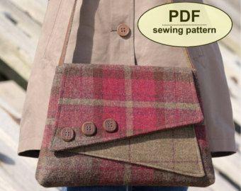 Nuevo: Patrón de costura para hacer el bolso por charliesaunt