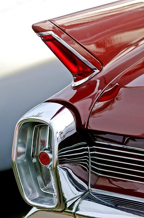 1962 Cadillac Eldorado Taillight Photograph by Jill Reger - 1962 Cadillac Eldorado Taillight Fine Art Prints and Posters for Sale
