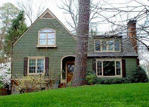 Green Exterior Paint Color Schemes 9 best house exteriors images on pinterest | exterior design