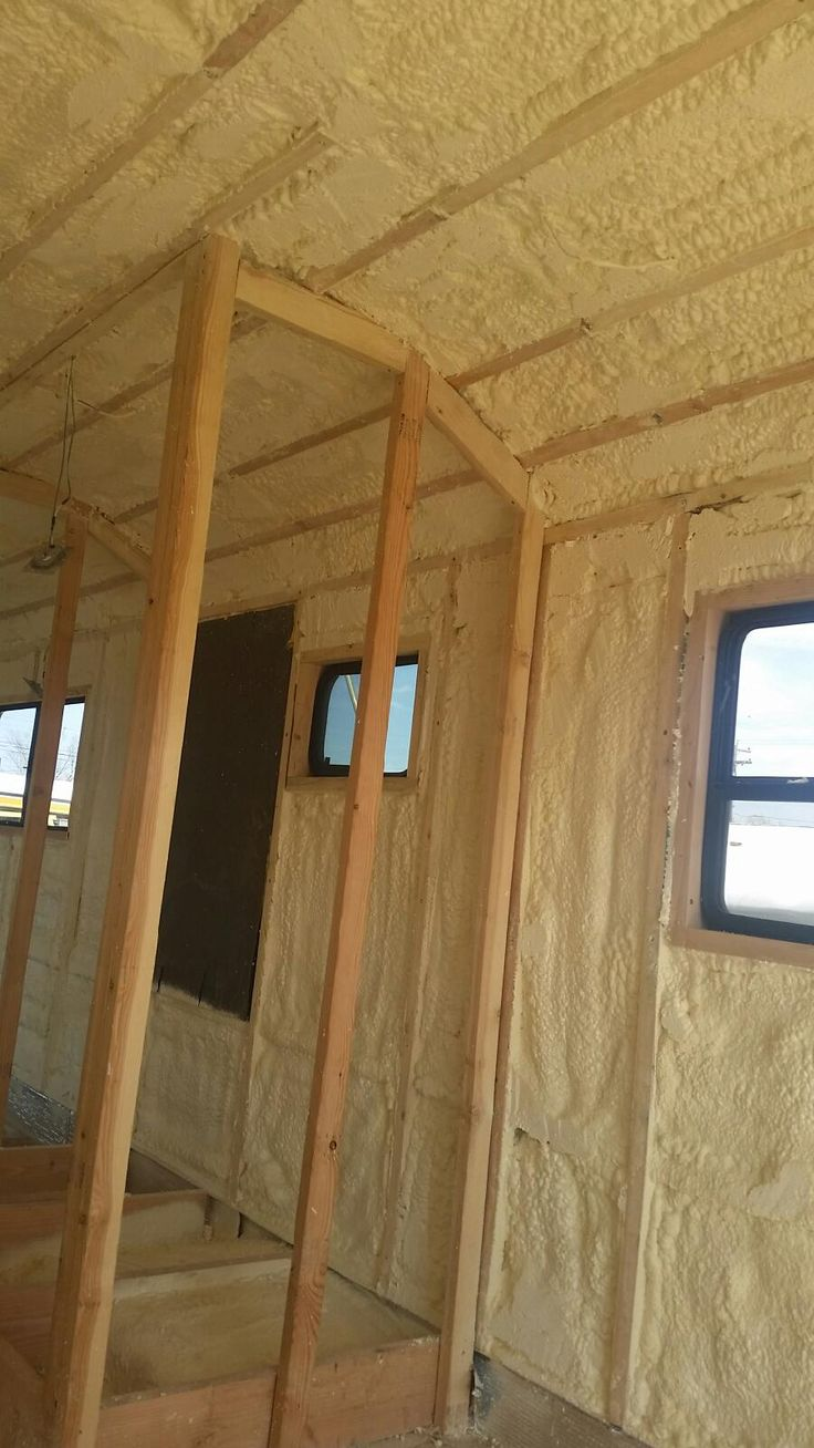 Best 25 spray in insulation ideas on pinterest spray on spray foam insulation bus conversion denver colorado charles kern skoolie solutioingenieria Choice Image