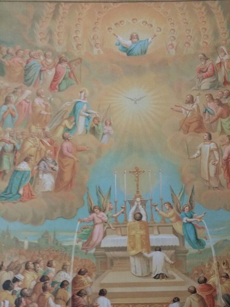 Heilige Messe mit Muttergottes als Gnadenvermittlerin