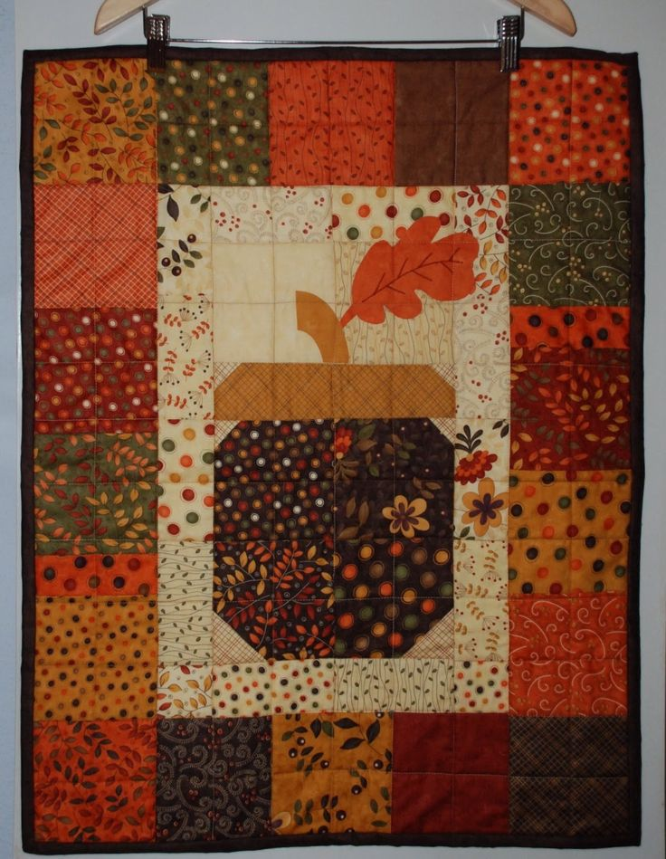 342 best Autumn Quilts images on Pinterest | Quilt patterns, Fall ... : fall quilt fabric - Adamdwight.com