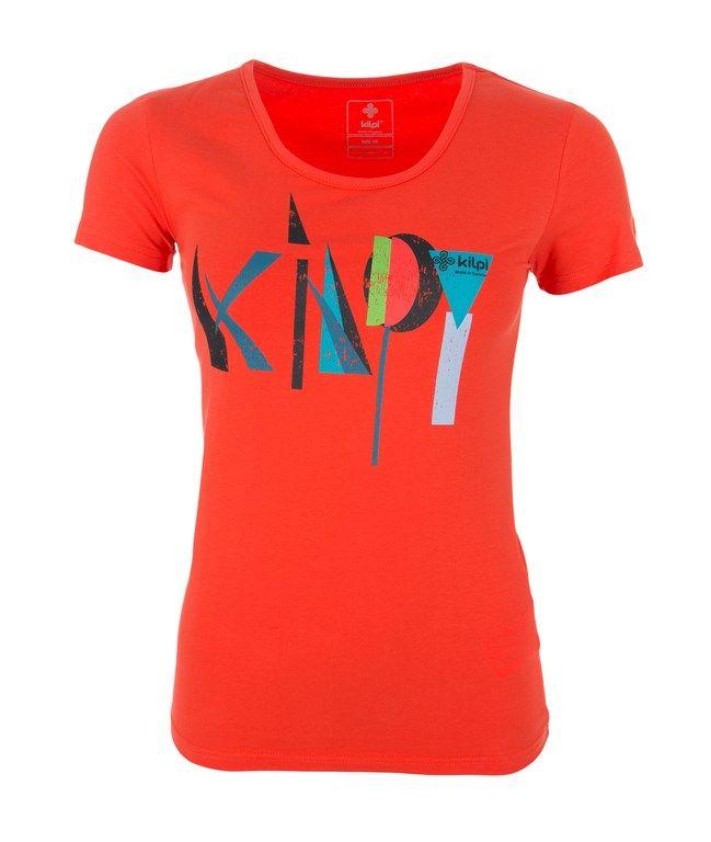 Women's T-shirt KILPI - AMADEA - orange