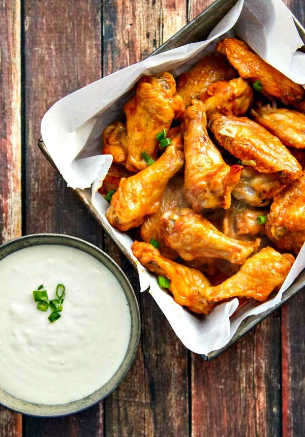 Why fry when you can have Baked Buffalo Wings that are just as crispy with tender, juicy meat, too? A 2-ingredient sauce makes them even better!