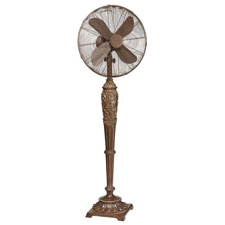 """DecoFlair 16"""" Oscillating Pedestal Fan"""