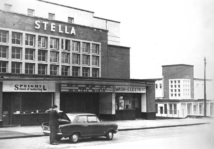 The Stella Cinema, Deerpark Road, Mount Merrion Dublin 1970