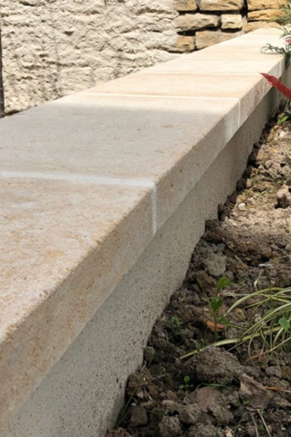 Coping Stone For Walls Capping Stone Natural Stones From Burgundy Coping Stone Garden Wall Stone Wall