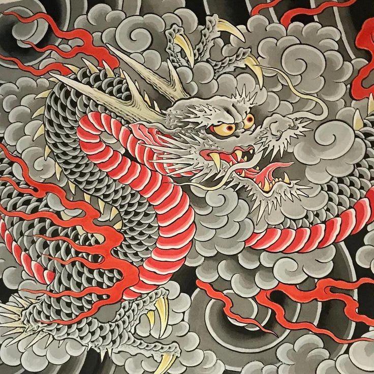 какой-то момент, картинки в стиле китайских татуировок важно