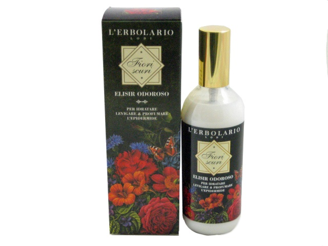 The Fiori Scuri Elixir is for moisturizing, smoothing and perfuming the skin. Just a gentle massaging of this Elixir instantly leaves the skin of the entire body soft and enveloped in a fascinating and subtly evocative scent.