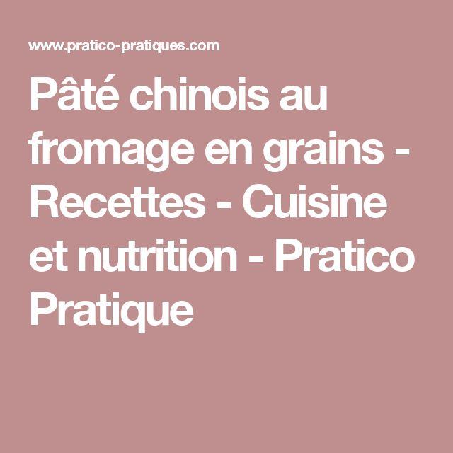 Pâté chinois au fromage en grains - Recettes - Cuisine et nutrition - Pratico Pratique