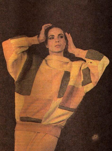 """Image from """"Stare jak nowe"""" Agnieszka Kulon-Śmieszny, fot. Robert Król, Warszawa 1988"""