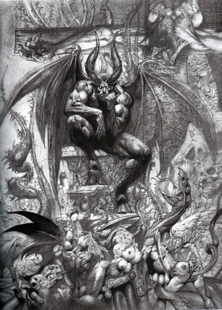 Simon Bisley: http://simonbisleyart.com/galleries/