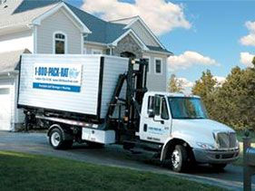 Portable Storage Unit Delivered. Our crew supervisors will then set up the installation times that fit with your schedule. We always provide you with exact installation dates so the project gets done quickly and on-time. Our crews always show up when scheduled and begin the install process. http://www.ohiogarageinteriors.com