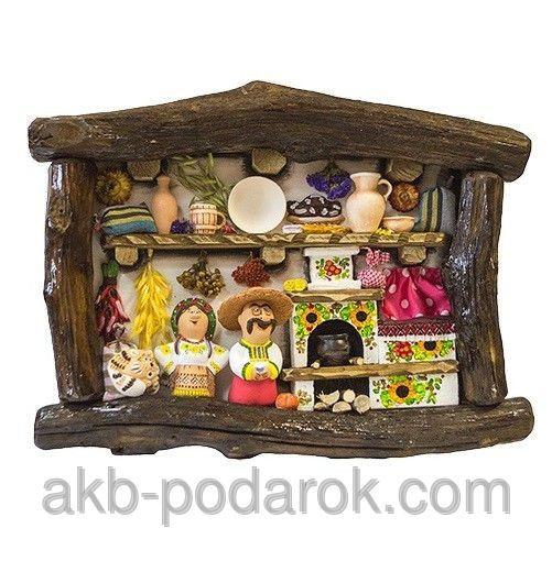 """Настенное декоративное панно """"Ласкаво просимо"""". Украинские сувениры, цена 920…"""
