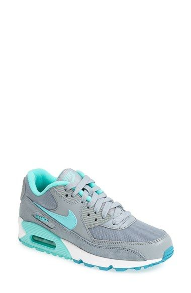 Free shipping and returns on Nike 'Air Max - Essential' Sneaker (Women) at Nordstrom.com. Panels of leather and an air-unit sole built with extra cushioning update a classically designed sneaker for the epitome of retro, comfy chic.