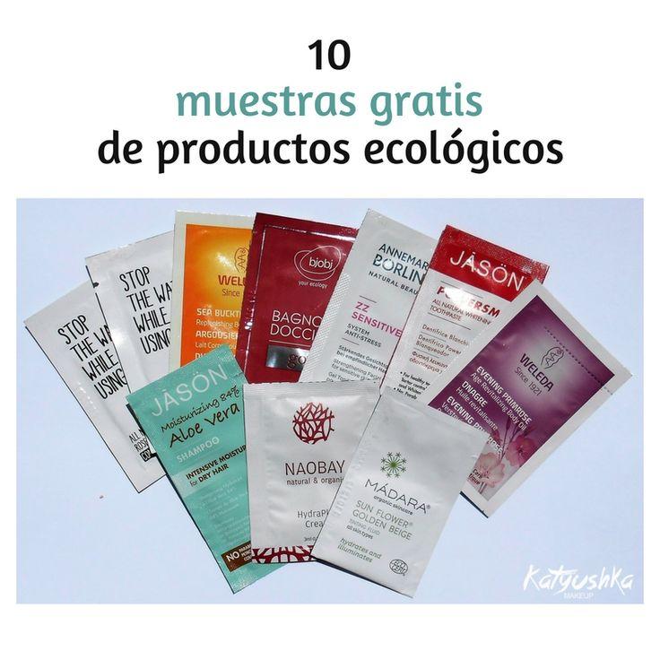 10 muestras gratuitas de cosmética y maquillaje ecológico