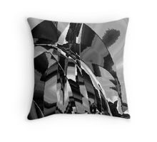 Shattered Time Zones Throw Pillow