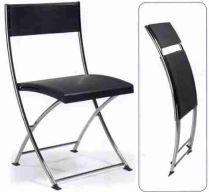 KIA est une chaise pliante et légère en polypropylène, un mobilier d'accueil professionnel . Cette chaise est parfaite aussi bien comme siège de réunion au bureau, que comme siège visiteur ou de réception.