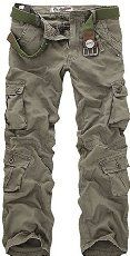 Leward Men's Casual Active Military Cargo Camouflage Combat Pants Trousers