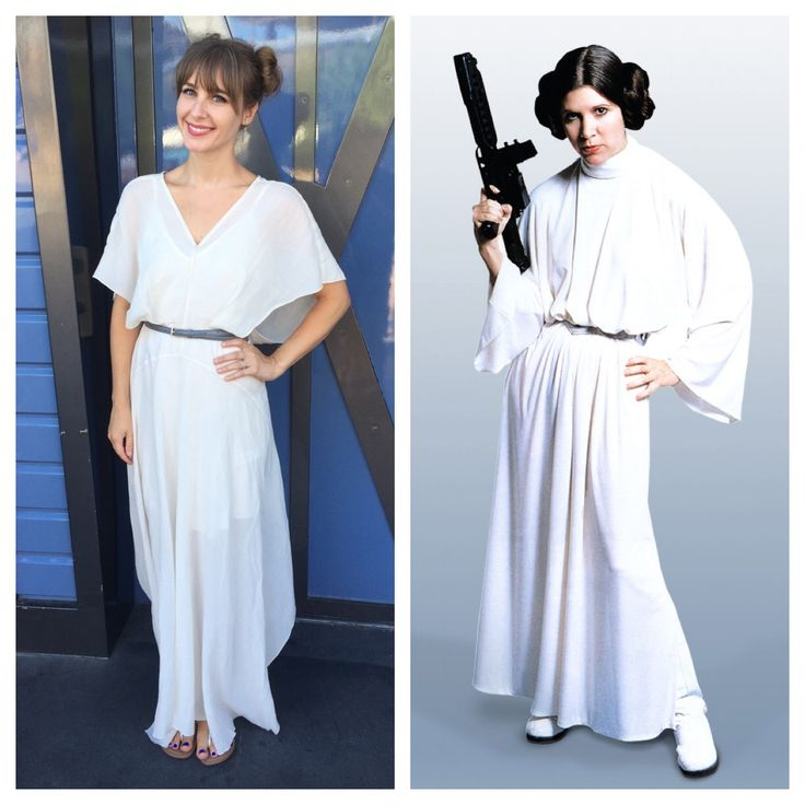 Adventures in Disneybounding — Disneyland, Day 1: Princess Leia