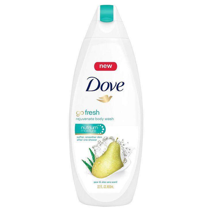 Dove Pear and Aloe Vera Scent Body Wash - 22oz