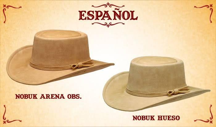 #Sombreros modelo español, Arena y Hueso