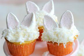 cupcake de páscoa, cupcake coelho, bolos e doces, festas infantis, decoração festa, bunny cupcake