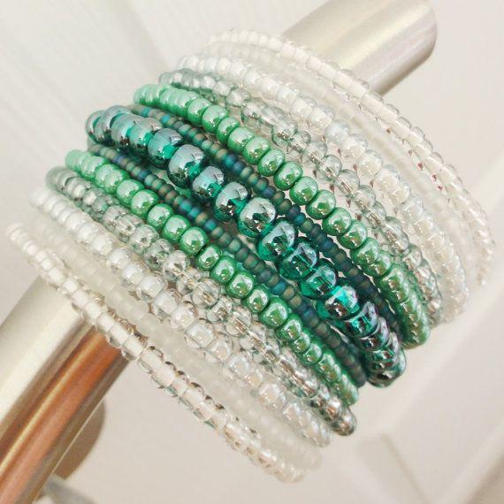 best 25 beaded cuff bracelet ideas on
