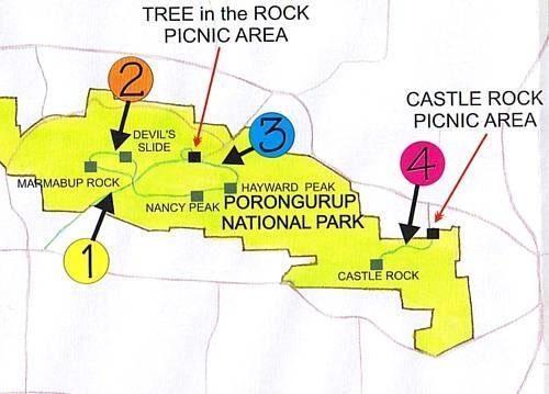 Porongurup National Park walk trails
