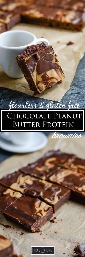 Gluten Free lower calorie and sugar protein chocolate peanut butter brownie recipe |  GLUTEN FREE RECIPE | HIGH PROTEIN RECIPE | VEGETARIAN RECIPE | CHOCOLATE PEANUT BUTTER BROWNIE RECIPE