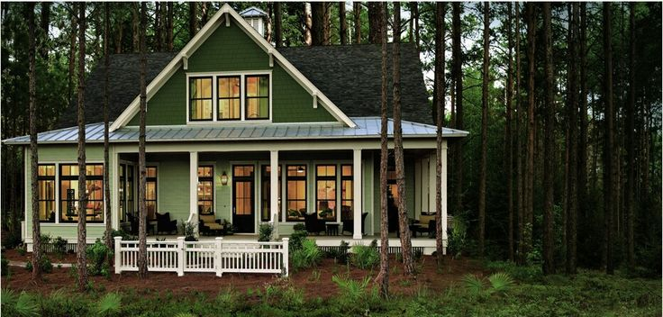 Someday this Hardie siding Heathered Moss would be gorgeous!