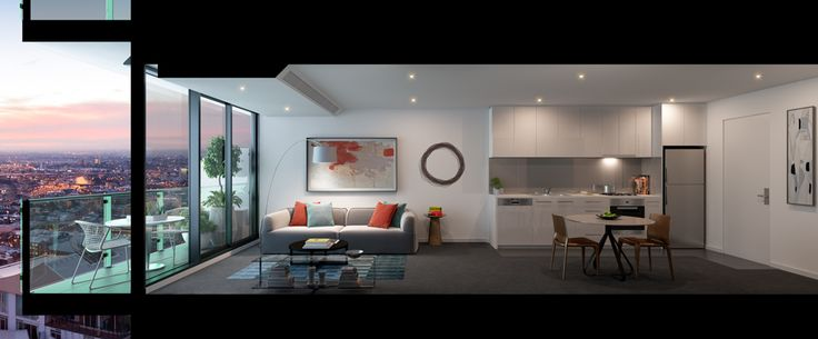 Inspect a range of floorplans, view the scale model and browse indicative outlooks. Walk through our display kitchen & bathroom to see first hand the quality fixtures and fittings of a new MelbourneONE apartment. #melbourneone