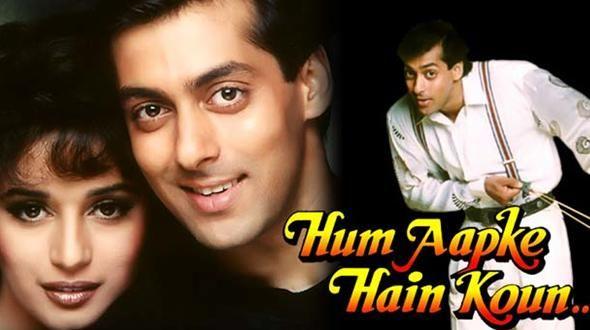 Hum Aapke Hain Koun, blockbuster hit in India, stars Salman Khan, Bollywood's Brad Pitt.