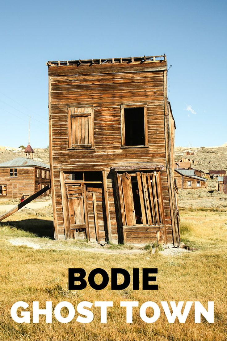 Visiting Bodie Ghost Town takes you on a trip to the gold-mining past of California and the buildings that still stand represent its history. A must-see east of the Sierra Nevada.