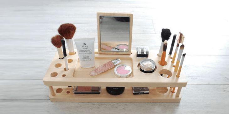 9 organizadores para maquillaje que desearás tener