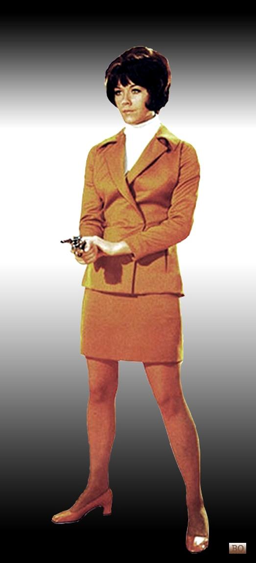 Tara King is better than Emma Peel! I don't care! She's a fashion icon!